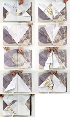 Folded magazine