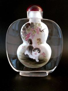 reverse painted chinese scent bottle dating
