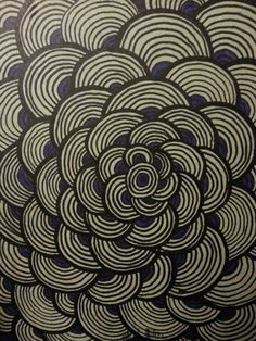 Zentangling my journal #zentangle #design