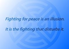 Twitter / TheGoldenMirror: Fighting for peace is an ...