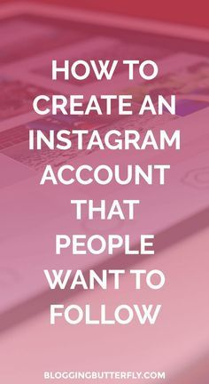 14 tips to help you create a better Instagram account that will attract with right kind of followers. Read this and find more blogging and social media marketing tips for beginners: bloggingbutterfly...