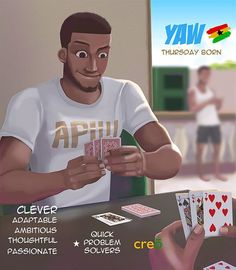 We are celebrating all Yaws, Laamisis, Papas and Yokows out there. Thursday is your day! Tag 3 you know now. 7 Days, 7 Gods, brought to you by creō concepts. Black Love Art, Black Girl Art, Art Girl, Black Cartoon, Cartoon Art, Ghana Art, African Art Paintings, Natural Hair Art, Black Art Pictures