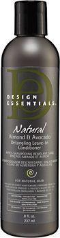 Design Essentials Natural Almond and Avocado Detangling Leave-In Conditioner