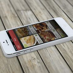 Phone Restaurant App UI - Marrakech on Behance