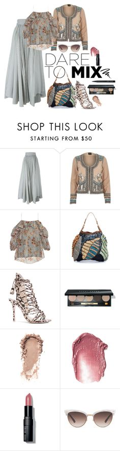 """""""2016 pattern mixing"""" by vaughnroyal ❤ liked on Polyvore featuring Brunello Cucinelli, River Island, Zimmermann, Jamin Puech and Gucci"""