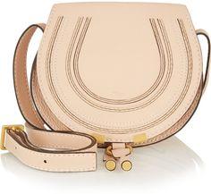 Chloé The Marcie mini textured-leather shoulder bag on shopstyle.com.au