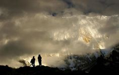 Poranek w bazie , Annapurna Base Camp, konkurs, NEPAL
