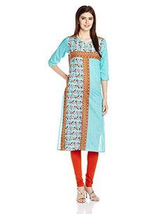 Shree Women's Straight Kurta Check more at http://www.indian-shopping.in/product/shree-womens-straight-kurta/