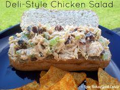 Love Bakes Good Cakes: Deli-Style Chicken Salad