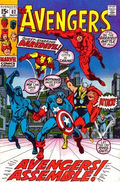 The Avengers #82
