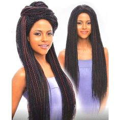 Vanessa Senegal Braid Lace Front Wig TOPS DAKAR TWIST 1 (Hand Braided)