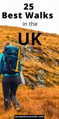 Best hikes in the UK - Top walks in England, Wales, Scotland and Northern Ireland. Here are 25 wonderful hikes in the UK to enjoy this beautiful country. Best hikes in England, including Lake… Hiking Routes, Hiking Tips, Hiking Gear, Hiking Backpack, Hiking Food, Power Walking, Lake District, Bali Stil, Images Google