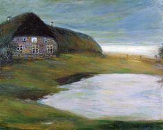 """artishardgr:  """"Emil Nolde - Home 1901  """"  Emil Nolde (!867-1956)"""