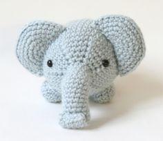 Elefante Amigurumi - Patrón Gratis en Castellano - Versión en PDF