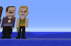 Pixel art du jour. Vous le reconnaissez ? Minecraft, Vaulting, Pixel Art, Fallout Vault, Family Guy, Fictional Characters, D Day, Fantasy Characters, Griffins