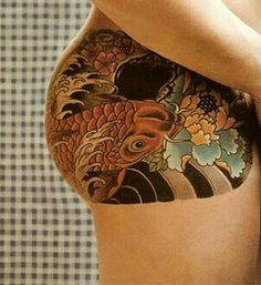 Daydreams in ink on pinterest seashell tattoos teacup for Tattoos on buttocks