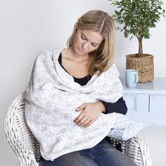 Jojo maman bebe extra large elephant print muslin swaddle blanket