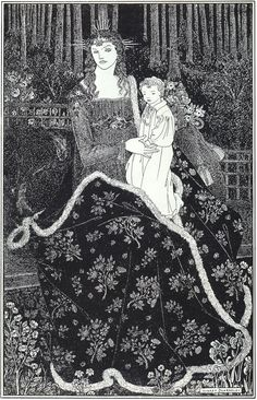 Image Detail for - large Christmas Card - Aubrey Beardsley - WikiPaintings.org