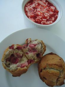 Florida Strawberry Muffins and Whipped Strawberry Butter More