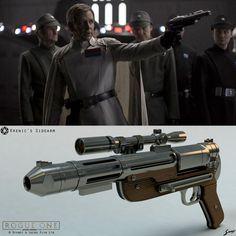 Star Wars: Rogue One - Director Orson Krennic's Sidearm