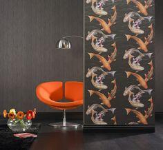 Wallpaper Rasch NATURAL INSTINCT wallpaper 781014 black