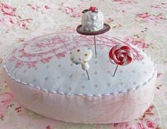 cute pin cushion and pins
