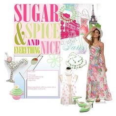 """Sugar & Spice"" by shoppe23 ❤ liked on Polyvore featuring Universal Lighting and Decor, BB Dakota, 77Queen and FabulousFashionAccessories"