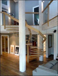 17 best escaliers gain de place faible encombrement images on pinterest stairs staircases. Black Bedroom Furniture Sets. Home Design Ideas