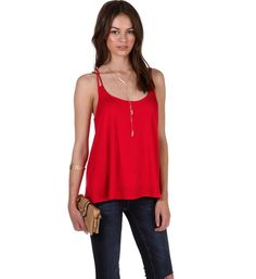 Red Double Take Knit Tank at WindsorStore