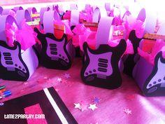 Hannah Montana Party Cute Favors Bags Star Theme Rock