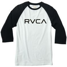 RVCA Big RVCA Raglan Long Sleeve T-Shirt
