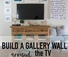 """Find out additional info on """"tv wall mount ideas living rooms"""". Look into our website. Small Space Living, Living Spaces, Decor Around Tv, Brown Sofa, Wall Mounted Tv, Decorating On A Budget, Home Living Room, Family Room, Interior Design"""