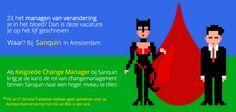 Zit het managen van verandering je in het bloed? Dan is deze vacature je op het lijf geschreven. Waar? Bij Sanquin in Amsterdam. https://www.epeople.nl/web/change-manager-sanquin-amsterdam/?utm_source=pinterest&utm_medium=vacature&utm_campaign=sanquin
