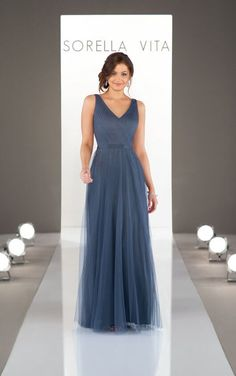 dc78ee90c0e Soft and Simple Bridesmaid Dress - Sorella Vita