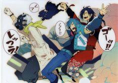 Nitro+CHiRAL, DRAMAtical Murder, Seragaki Aoba, Koujaku, Ren (DMMd)