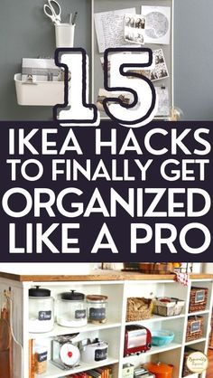Ikea Kitchen Storage, Ikea Pantry, Ikea Storage, Storage Hacks, Home Organisation Tips, Storage Room Organization, Organization Ideas, Ikea Craft Room, Toy Storage Solutions