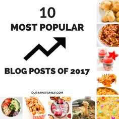Looking back on my most popular blog posts and most trending blog posts of 2017!