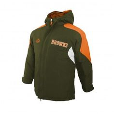 Browns Youth Heavy Parka Hoody Jacket