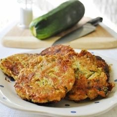 Zucchini Cakes by LittleBCooks