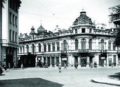Str Doamnei Nr cca actualul imobil a fost construit in 1953 Romania, Louvre, Street View, Building, Travel, Memories, Bucharest, Memoirs, Viajes