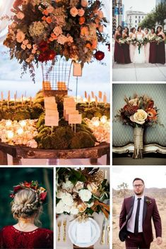 Fall Wedding Inspiration from Burgh Brides