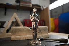 Original 1929 Oscars statue revived with 3D printing for 2016 Academy Awards