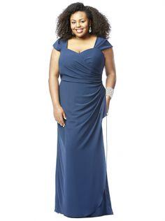 Cheap Plus Size Blue Bridesmaid Dresses Under 50