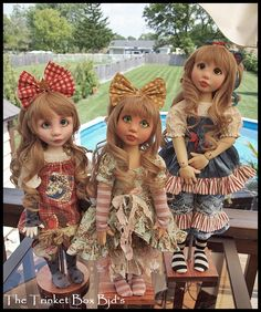 The Trinket Box Ball Jointed Dolls - By Canadian Doll Artist - Kim Arnold