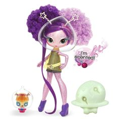 She suffered arm-loss-itis and antenne-be-gone-syndrome Baby Alive, Toys R Us, Kids Toys, Novi Stars, Stars Play, Doll Stands, Toy Store, Star Shape, Pink Glitter