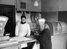 Ностальгия, советские фотографии о торговле (1)
