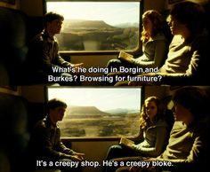 creepy shop, creepy bloke