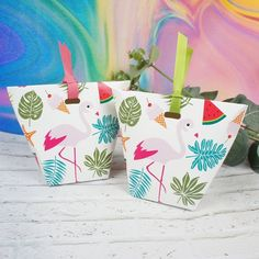 10pcs lamingo tropical plant Paper Box Wedding Favors Gifts Decoration For Cookie Candy Gift Packaging Christmas sweet pack on Aliexpress.com | Alibaba Group