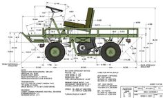 M274 Mule Blueprints | M274 military mule half scale home build