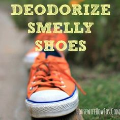 ae5d94fc9e04 The BEST Ways to Deodorize Smelly Shoes. Keep ShoesClean ShoesGet Rid Of ...